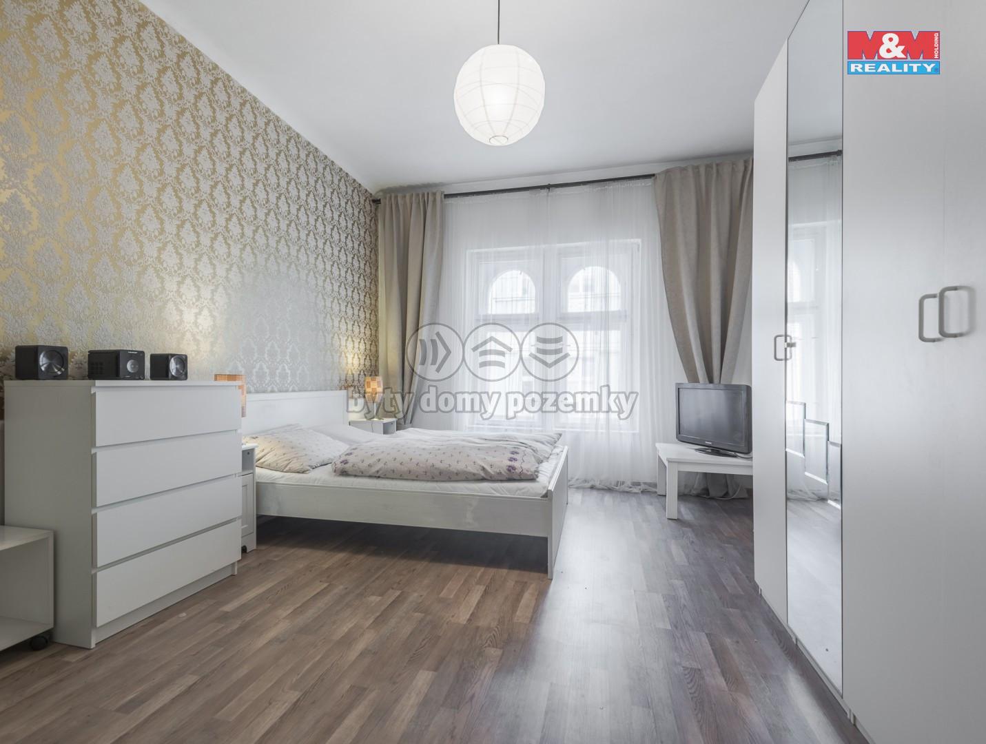 Pronájem bytu 1+kk, 37 m2, Žižkov