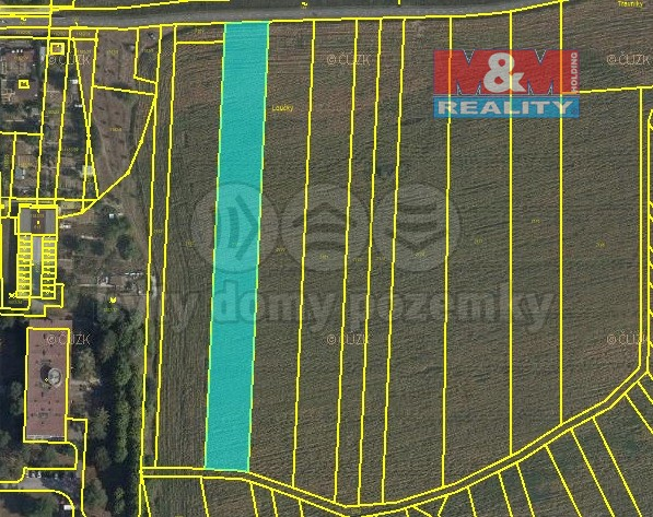 Prodej pozemku k bydlení, 4551 m², Otrokovice