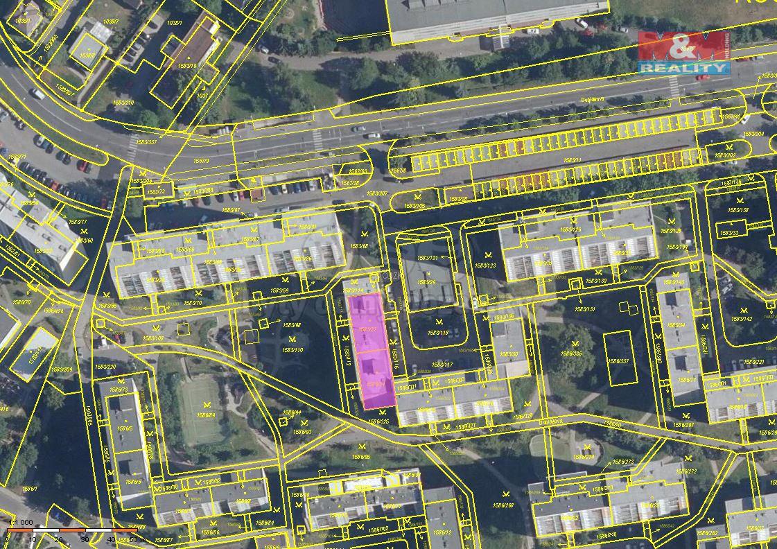 Pronájem bytu 2+kk, 45 m², Liberec, ul. Dobiášova