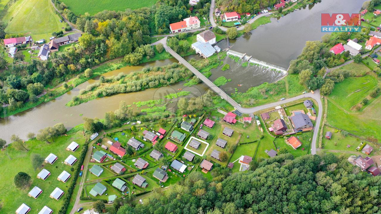Prodej chaty 50 m2, Dobronice u Bechyně