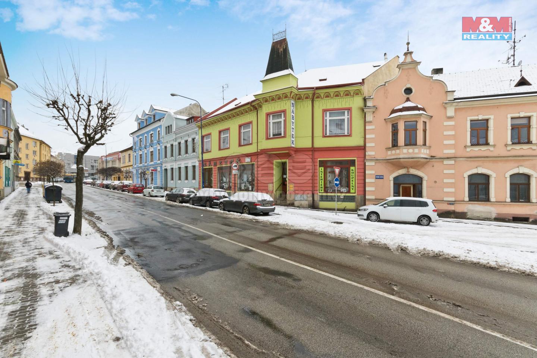 Pronájem obchodu, 566 m², Jindřichův Hradec, ul. Nádražní