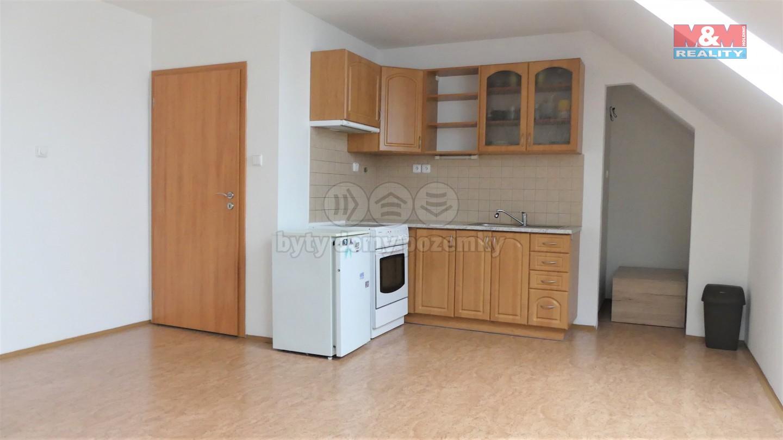 Pronájem bytu 1+kk, 32 m², Příbram, ul. Rožmitálská
