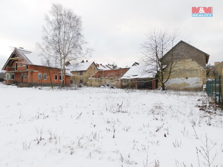 Prodej pozemku k bydlení, 1206 m², Třeboc