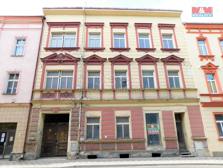 Prodej polyfunkčního domu, 650 m², Sokolov, ul. U Divadla