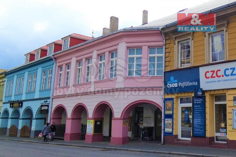 Pronájem obchod a služby, Přelouč, ul. Masarykovo náměstí