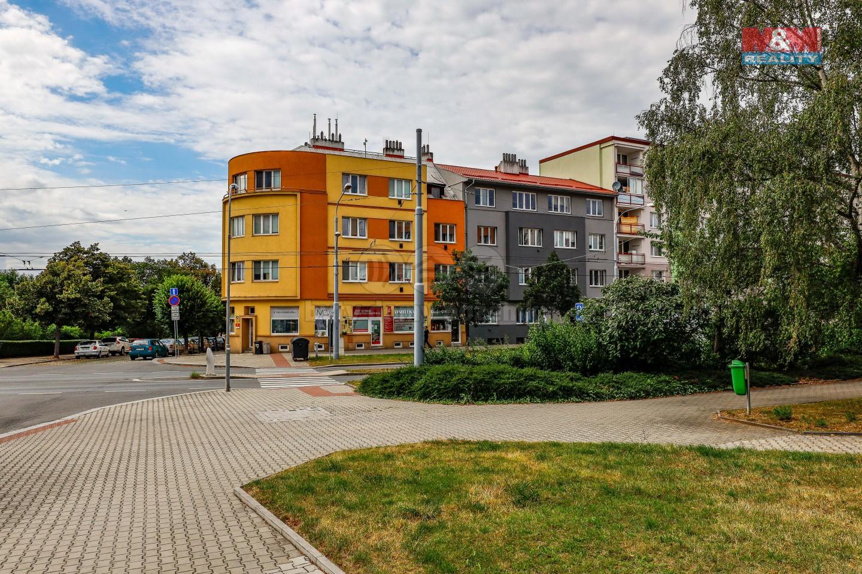 Pronájem, byt 1+kk, Plzeň, ul. Masarykova