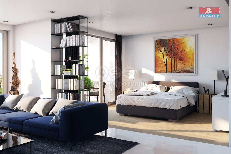 Prodej bytu 1+kk, 39 m2, Praha 9 - Kyje