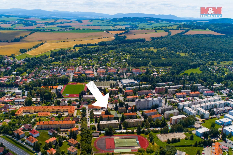 Prodej pozemku k bydlení, 1425 m², Domažlice, ul. Kozinova