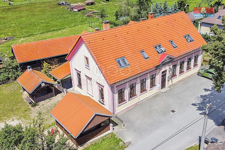 Prodej penzionu, 1552 m², Bor - Suchdol nad Lužnicí