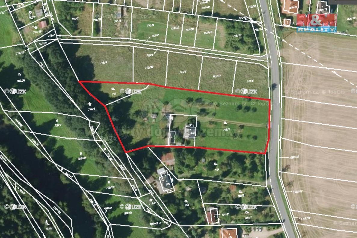 Prodej, stavební pozemek, 7024 m², Štěnovice