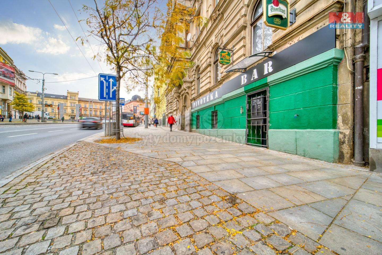 Pronájem baru, stravování, 102 m², Plzeň, ul. Americká