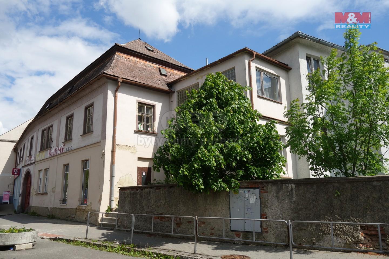 Prodej obchodního objektu, 3420 m², Svitavy, ul. Purkyňova