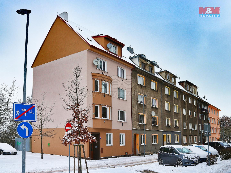 Prodej bytu 1+1, 37 m², Cheb, ul. Obětí nacismu
