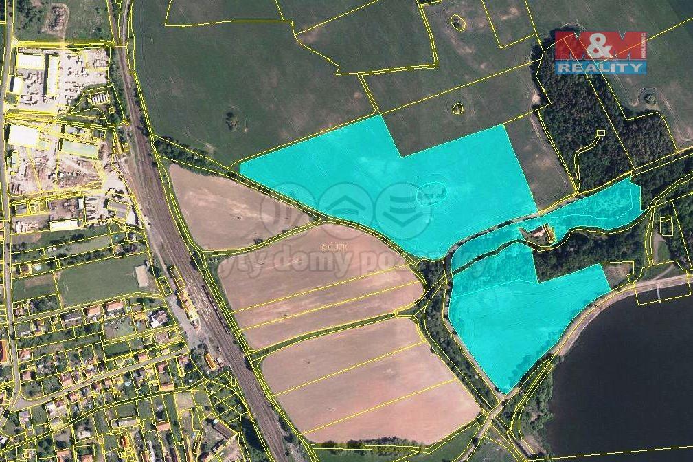 Prodej pole, 110692 m², Blatno u Podbořan