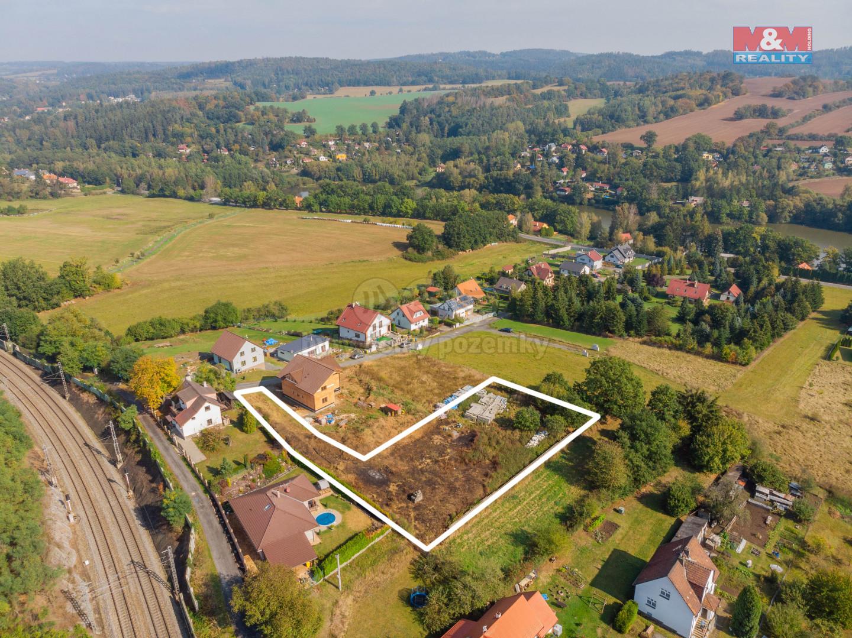 Prodej pozemku k bydlení, 1591 m², Mirošovice