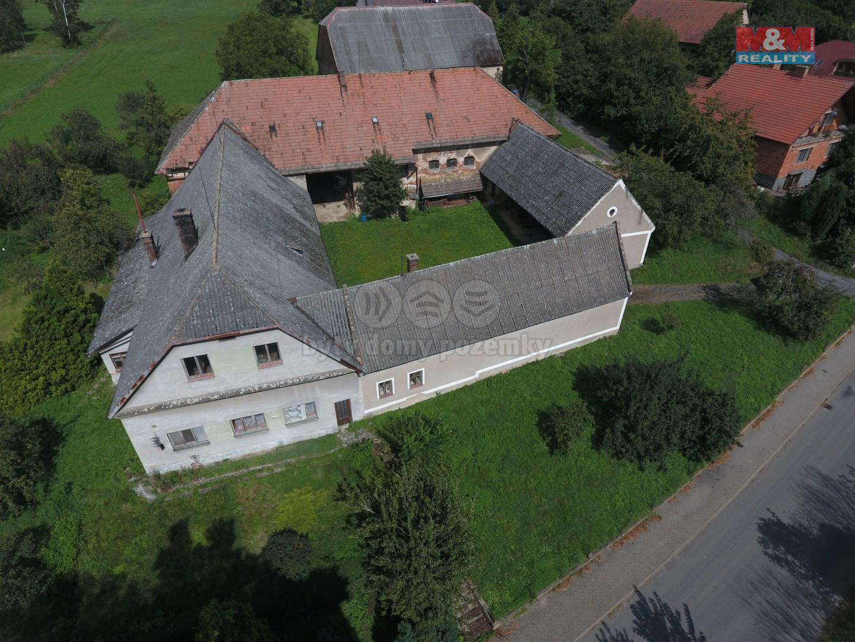 Prodej rodinného domu, pozemek 3096 m², Němčice u Litomyšle