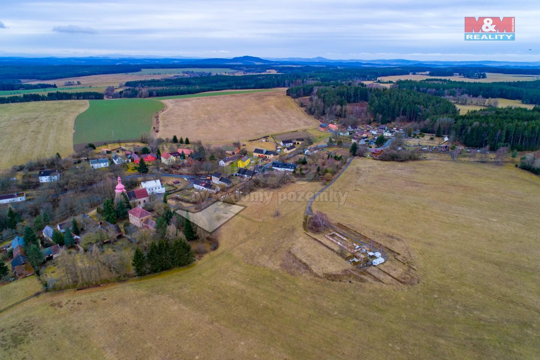 Prodej pozemku k bydlení, 3408 m², Lestkov
