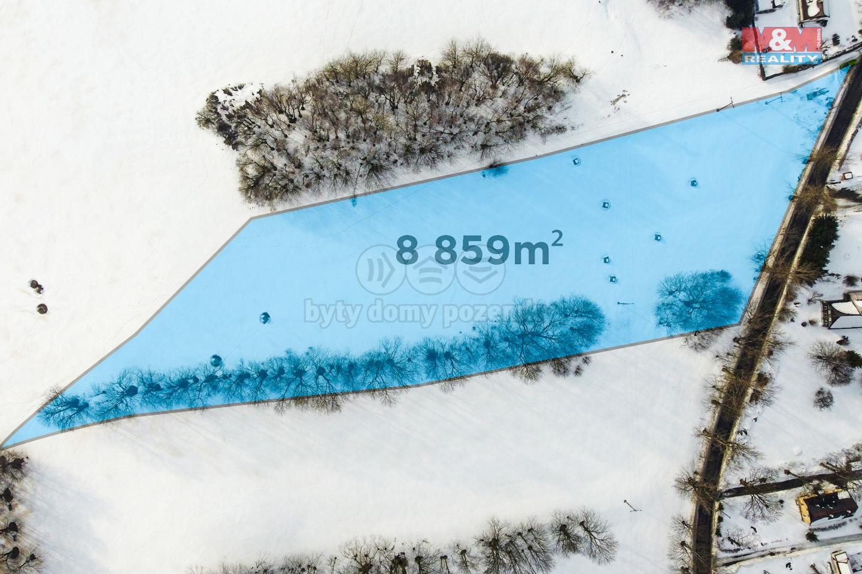 Prodej pozemku k bydlení, 8859 m², Horní Světlá