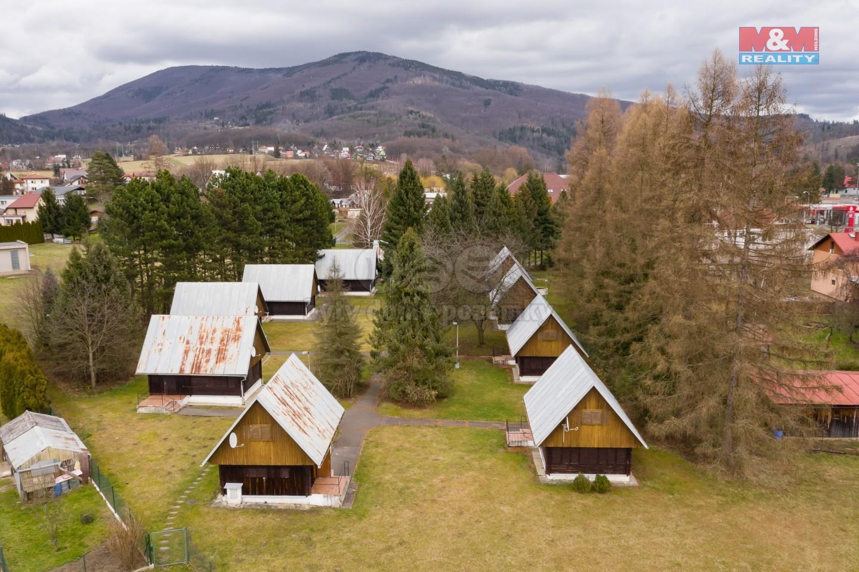 Prodej, rekreační bungalovy, 1800 m², Rožnov pod Radhoštěm