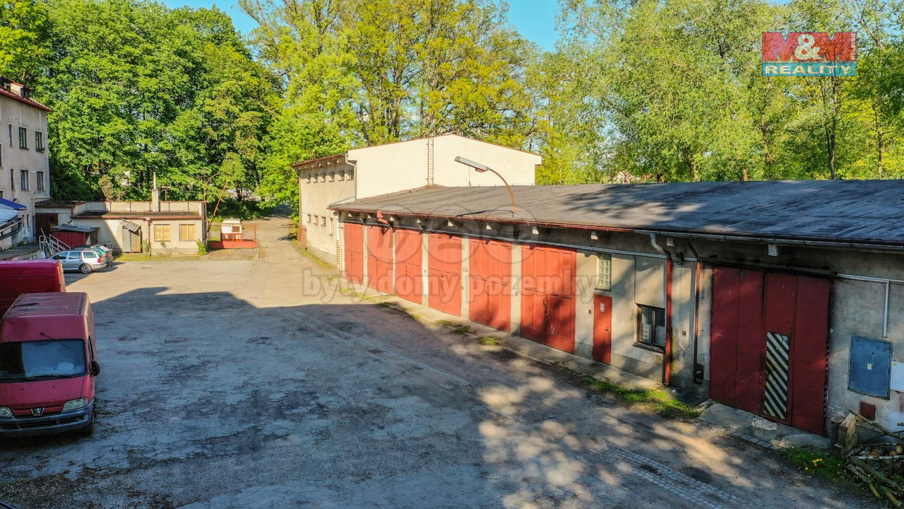 Pronájem garáže, 48 m², Jindřichův Hradec, Dolní Skrýchov