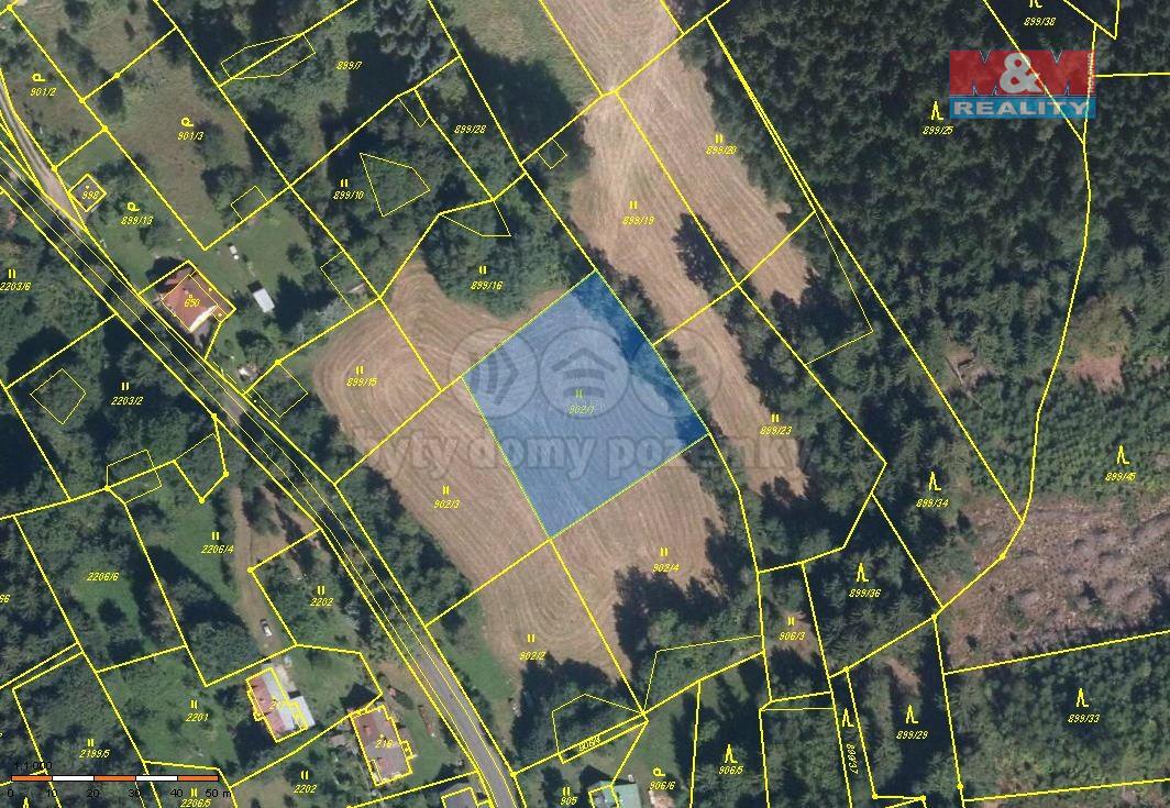 Prodej pozemku, 2029 m², Tanvald
