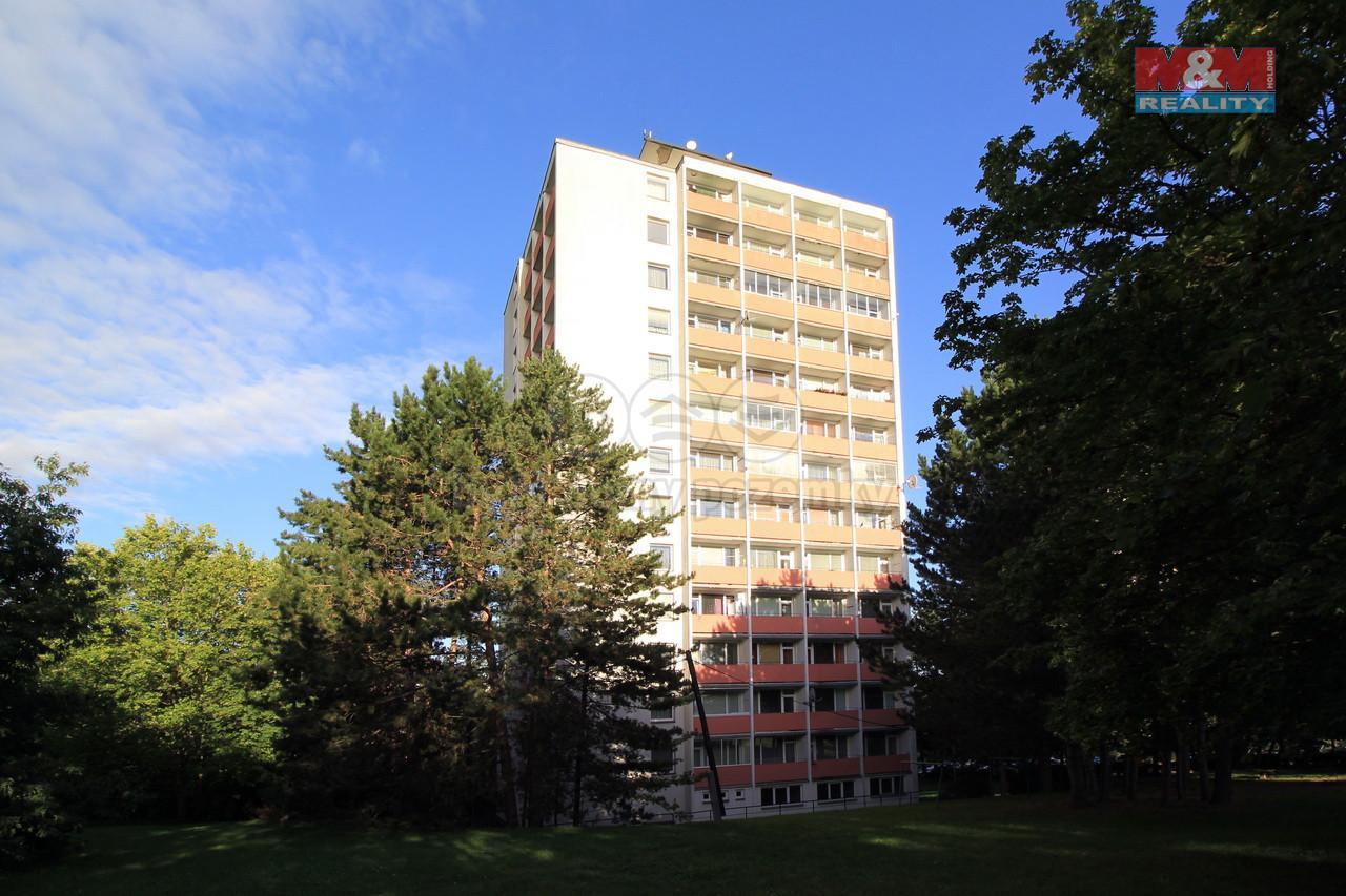 Pronájem bytu 1+kk, 22 m², Ústí nad Labem, ul. Hoření
