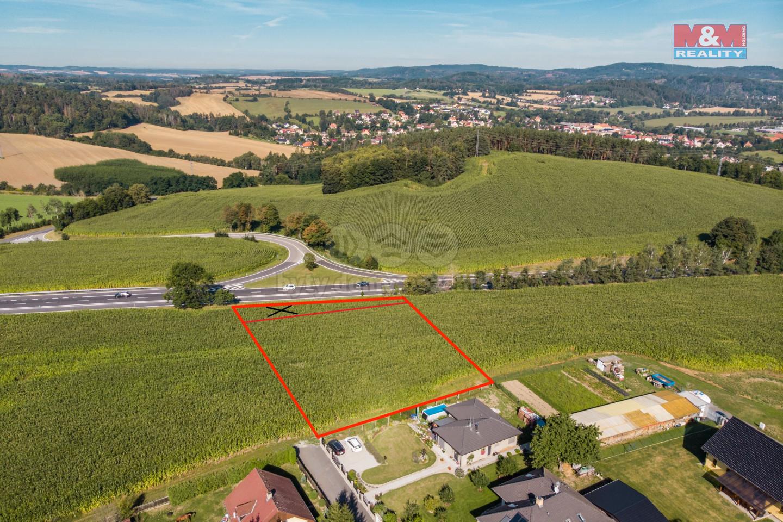 Prodej pole, 3504 m², Mrač