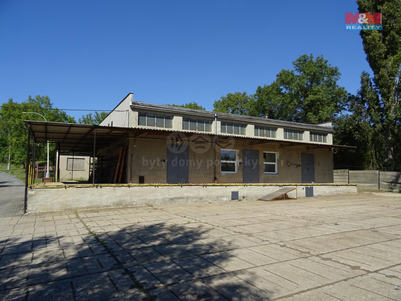 Pronájem výrobního objektu, 380 m², Žebrák, ul. Tovární