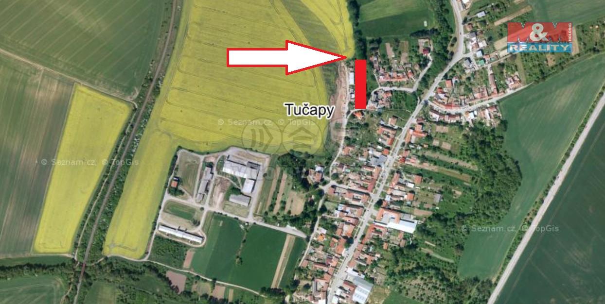 Prodej pozemku k bydlení, 1544 m², Tučapy