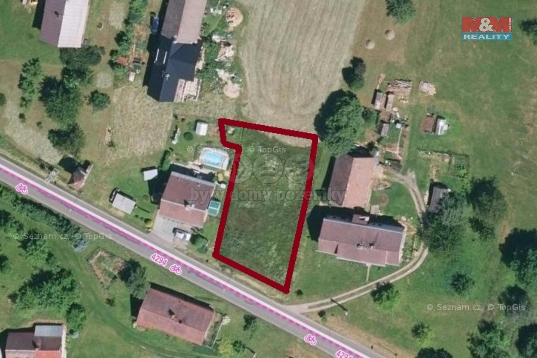 Prodej pozemku k bydlení, 832 m², Bukovina u Čisté