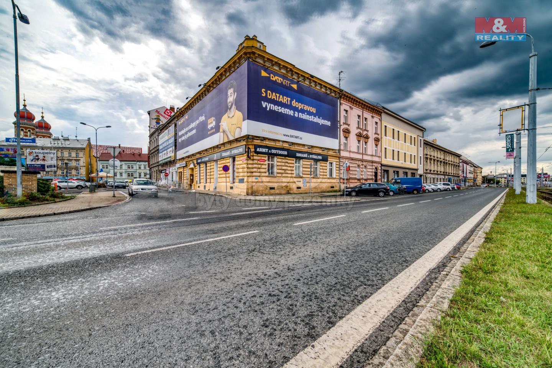 Pronájem, obchod a služby, 88 m², Plzeň, ul. Palackého nám.
