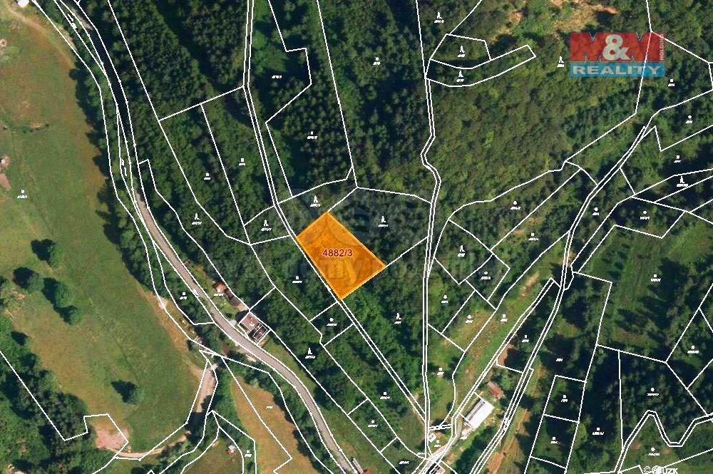 Prodej louky, 3970 m², Halenkov