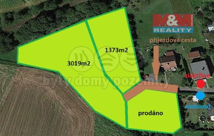 Prodej pozemku k bydlení, 1373 m², Chuchelná