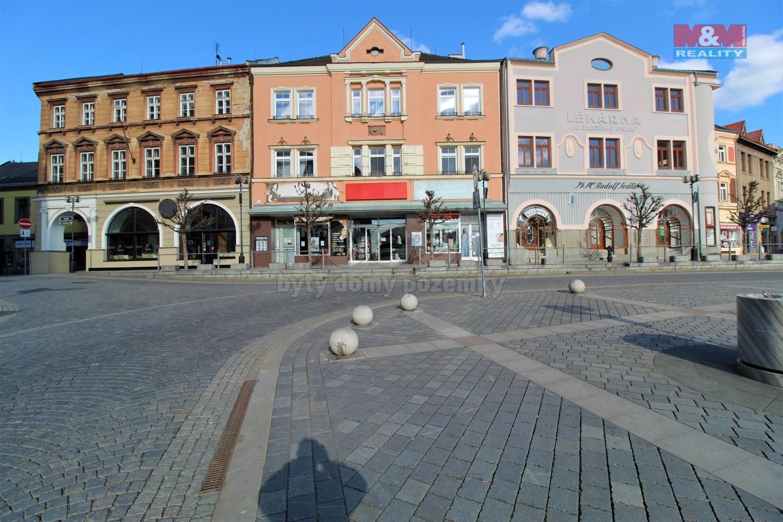 Pronájem obchod a služby, 93 m², Přerov, nám. T. G. Masaryka