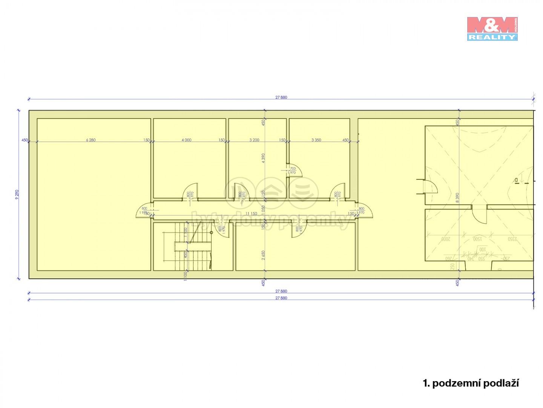 Prodej, nájemní dům, 789 m², Slavkov u Brna, ul. U Mlýna