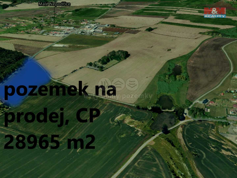 Prodej, orná půda, 28965 m², Písek