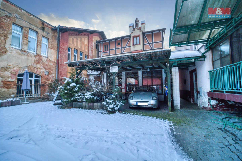 Prodej pensionu a restaurace v centru Chebu, ul. Jiráskova