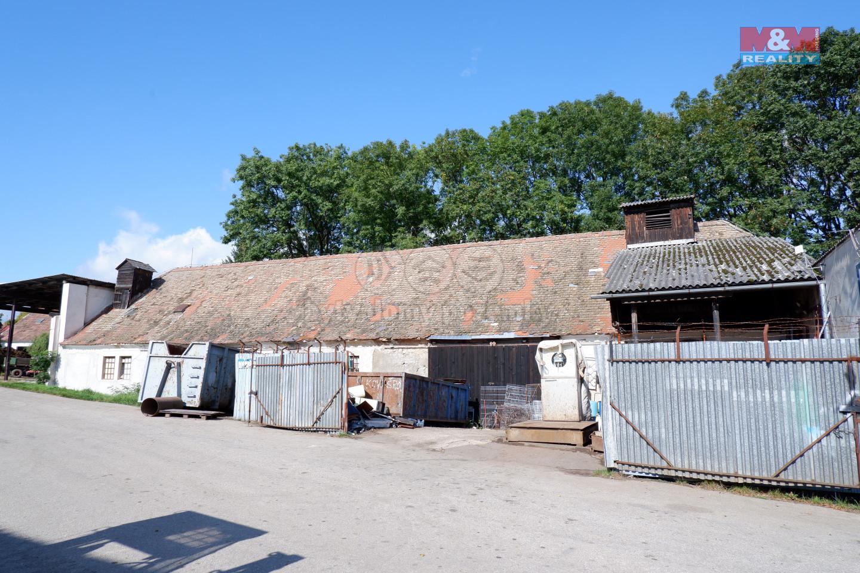 Prodej zemědělského objektu, 579 m², Velešín, ul. Na Humnech