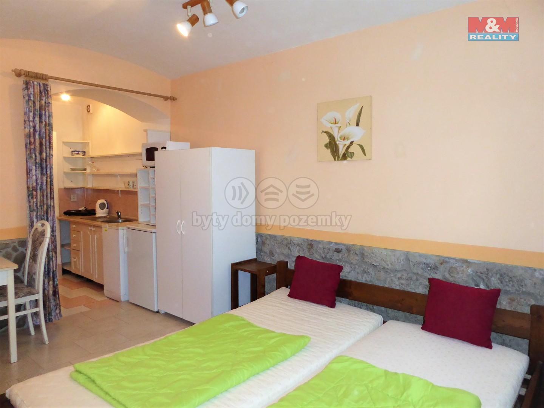 Pronájem bytu 1+kk, 20 m², Karlovy Vary, ul. Škroupova