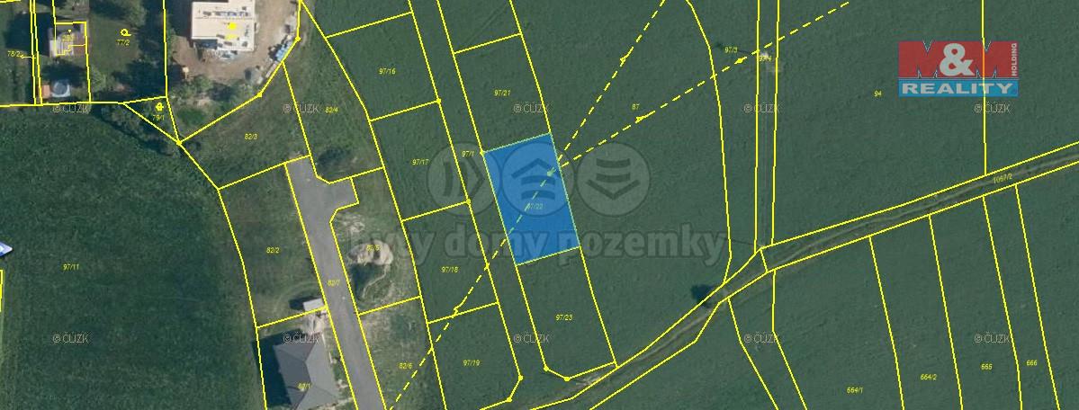 Prodej pozemku k bydlení, 695 m², Břasy