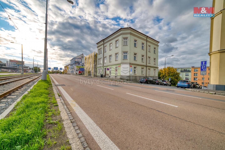 Pronájem bytu 1+kk, 25 m², Plzeň, ul. Skvrňanská