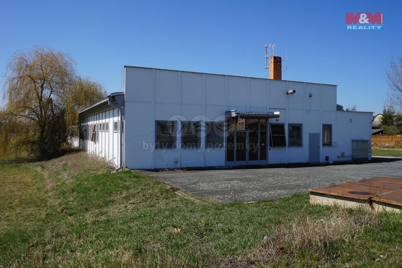 Pronájem, výrobní hala, 766 m2, Kralovice
