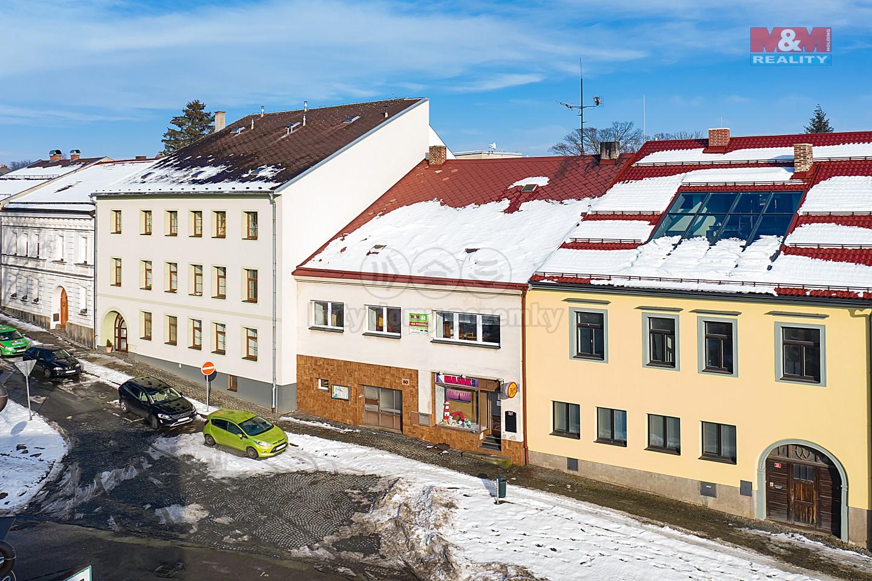 Prodej rodinného domu, 695 m², Přibyslav, Bechyňovo náměstí