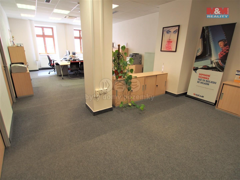 Pronájem kancelářských prostorů, Jihlava, ul. Palackého