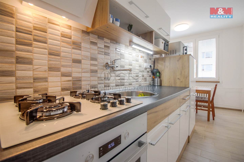 Prodej bytu 2+1, 59 m², Nový Bor, ul. Palackého