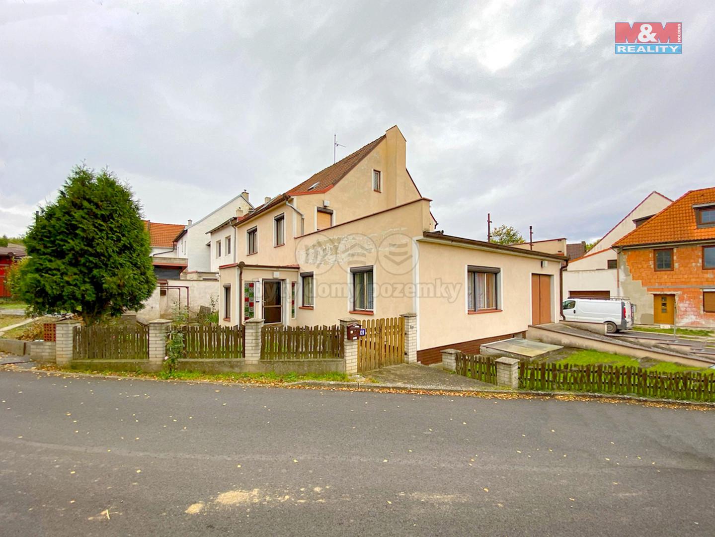 Prodej rodinného domu, 405 m², Hoštka, ul. Malá strana