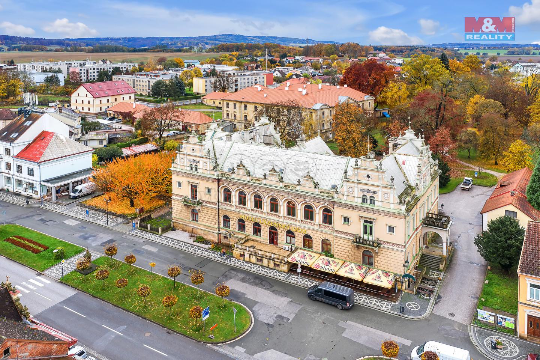 Prodej hotelu, 2739 m², Lázně Bělohrad