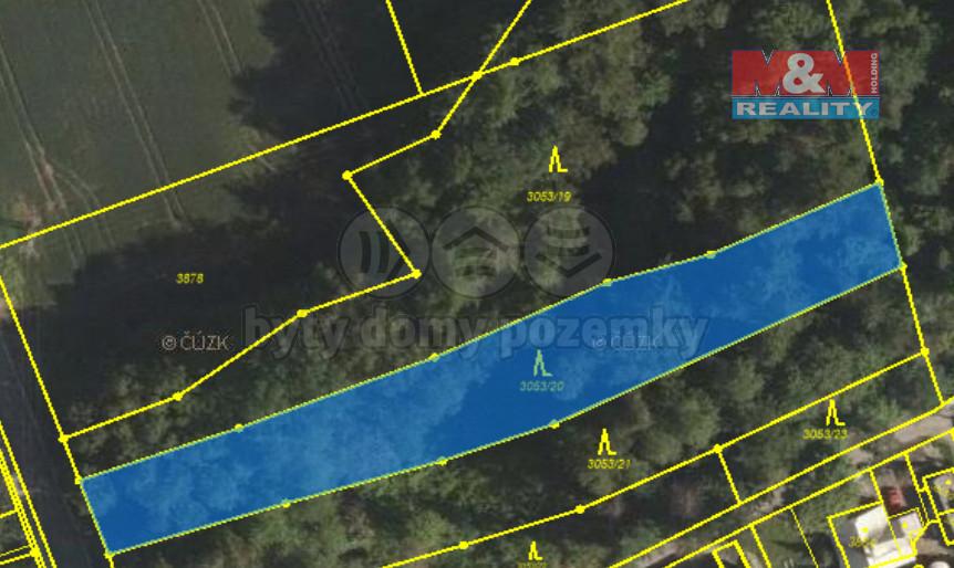 Prodej lesa, 2143 m², Petřvald