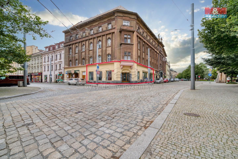 Pronájem obchod a služby, 220 m², Plzeň, ul. Goethova