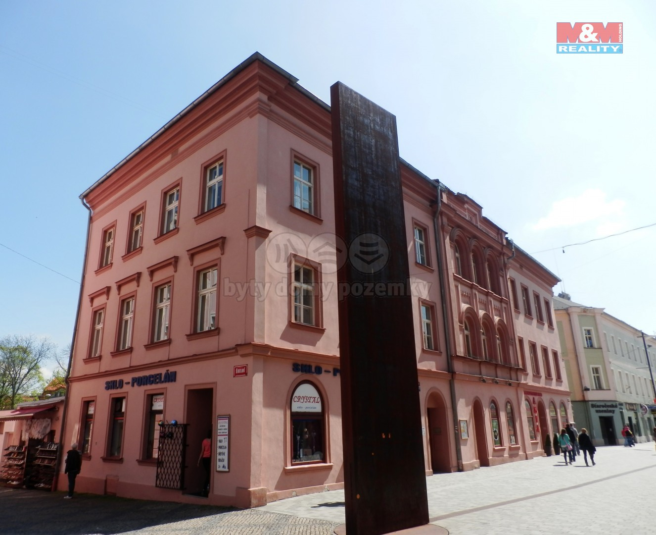 Pronájem kancelářského prostoru, 20 m², Cheb, ul. Svobody